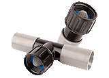 Compression Fittings Grey (.940 OD Tubing)