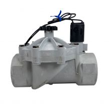 """Weathermatic SilverBullet In-Line Valve with Flow Control 2"""" FPT 