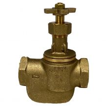 "Champion Brass Manual Straight In-Line Valve 1"" FPT 