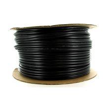 "DIG 12-005 1/4"" Black Vinyl Tubing (.156 ID x .245 OD) (60 PSI) (500') | 12-005"