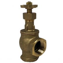 "Champion Brass Manual Angle Valve 1"" FPT 