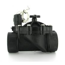 "Weathermatic BlackBullet MAX In-Line Valve with Flow Control 2"" FPT 