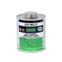 Oatey 16 oz Clear PVC Cement | 2246S
