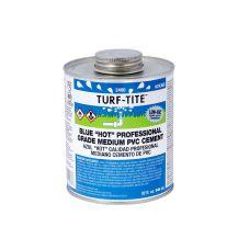 Oatey 4 oz Turf-Tite Blue Hot PVC Cement | 2466S
