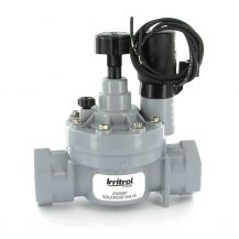 """Irritrol 2500F In-Line Valve with Flow Control 1"""" Slip 
