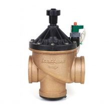 "Rain Bird Brass In-Line / Angle Valve with Flow Control 3"" FPT 