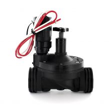"""DIG 305DC In-Line Valve with Flow Control and DC Latching Solenoid 1"""" FPT 