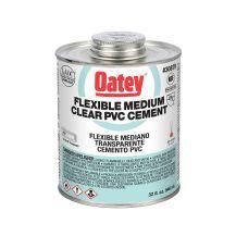 Oatey 32 oz. Clear PVC Cement | 30879