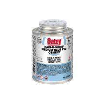 Oatey 8 oz Rain-R-Shine Blue PVC Cement | 30891