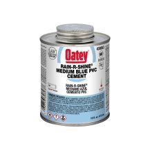 Oatey 16 oz Rain-R-Shine Blue PVC Cement | 30893