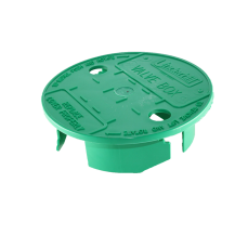 Underhill VL 6 in. Versalid Green Valve Box Cover - (One Size Fits All) | VL-6
