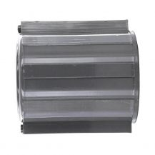 "Dura Grey Sch. 40 PVC Coupling 3/4"" FPT 