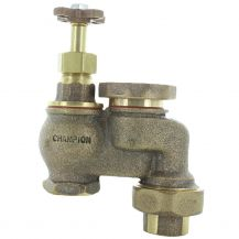 Champion 466 Brass Manual Anti-Siphon with Union Valve 1"