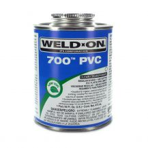 Weld-On 700 Clear PVC Cement 16 oz | 700-020