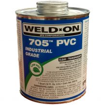 Weld-On 705 Clear PVC Cement 32 oz | 705-030