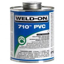 Weld-On 710 Clear PVC Cement 16 oz | 710-020
