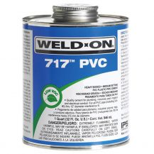 Weld-On 717 Gray PVC Cement 32 oz | 717-030G