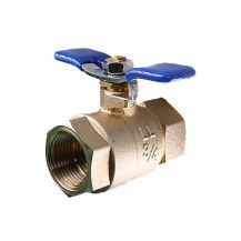 "Aqualine Lead Free Brass Backflow Ball Valve 3/4"" FPT 