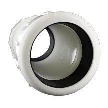 """King Brothers PVC Compression Coupling 6"""" Compression Ends 