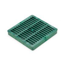 "Rain Bird Green Grid Flat Square Grate 9"" | DG9SFG"