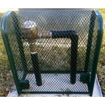 Backflow Armor Green Theft Prevention Backflow Cage | EKONO303013