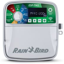 Rain Bird ESP-TM2 8 Station WiFi Ready Indoor/Outdoor Controller | TM2-8
