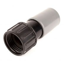 "Tempo Swivel Adapter w/ Washer 3/4"" FHT x Compression 