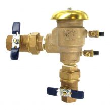"Febco U765 PVB Backflow Preventer with Union End Ball Valves 1"" Union End Ball Valves 