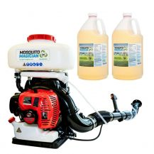 Sprinkler Magician Gas powered Backpack Fogger + 2 Gallons MM