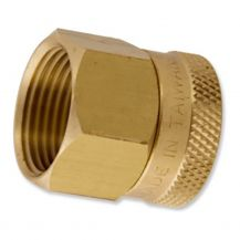 "Aqualine Brass Hose Fitting 3/4"" FHT x FPT 