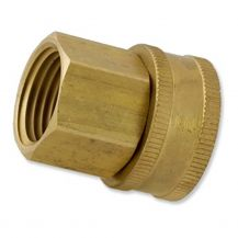 "Aqualine Brass Hose Fitting 3/4"" x 1/2"" FHT x FPT 
