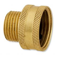 "Aqualine Brass Hose Fitting 3/4"" x 1/2"" FHT x MPT 