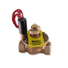 "Hunter IBV Brass In-Line Valve with Flow Control 1"" FPT 