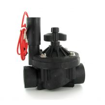 """Hunter ICV-FS In-Line Valve with Flow Control 1"""" FPT 