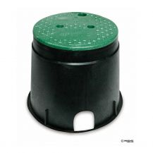 "NDS Round Valve Box-111BC 10"" Round Valve Box with Overlapping Cover"