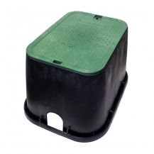 NDS Rectangular Valve Box-113BC Standard Rectangular Valve Box with Overlapping Cover