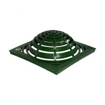 """NDS Green Grid Square Atrium Grate 18"""" 