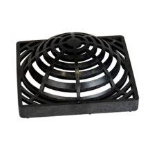"NDS Black Grid Square Atrium Grate 9"" | NDS-981"