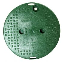 "NDS Valve Box Covers-111C 10"" Round Valve Box Overlapping Cover"