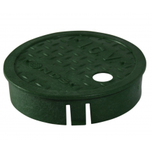 "NDS NDS-D109-GL 6"" Round Valve Box Overlapping Cover"