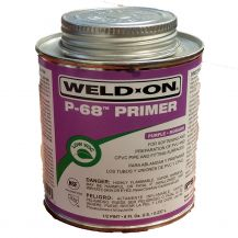 Weld-On P-68 Purple PVC Primer 8 oz | P68-010