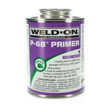 Weld-On P-68 Purple PVC Primer 16 oz | P68-020
