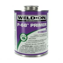 Weld-On P-68 Purple PVC Primer 32 oz | P68-030