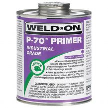Weld-On P-70 Industrial Grade Purple PVC Primer 8 oz | P70-010