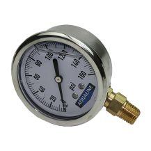 "Aqualine 0 - 160 PSI Pressure Gauge 1/4"" | PG160L"