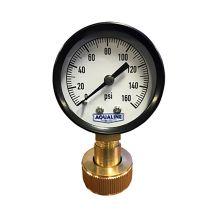 "Aqualine 0 - 160 PSI Pressure Gauge 3/4"" | PG160S"