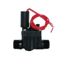 "Hunter PGV In-Line Valve with Flow Control 1"" MPT 