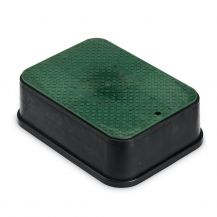 Rain Bird PVBJMBEXT Jumbo Valve Box Extension with Green Lid