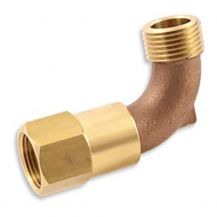 "Aqualine Quick Coupling Swivel 1"" FPT x MHT 