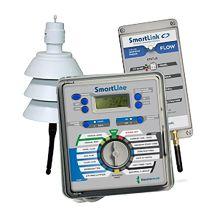 Weathermatic SmartLink 8 Station Indoor/Outdoor Controller | SL1608-1YR-FLOW-BUNDLE
